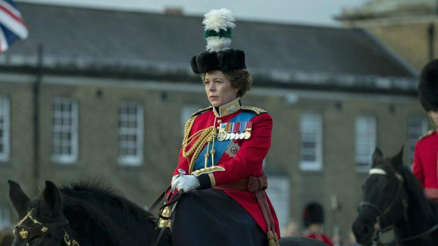 """Queen Elizabeth II. in """"The Crown"""", gespielt von Oscarpreisträgerin Olivia Colman. (stk/spot)"""