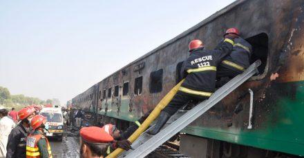 Das letzte schwere Zugunglück ereignete sich im Jahr 2019 mit mindestens 65 Menschen Toten.