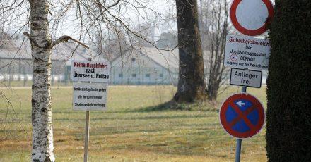 Blick auf die Justizvollzugsanstalt in Bernau am Chiemsee (Bayern).