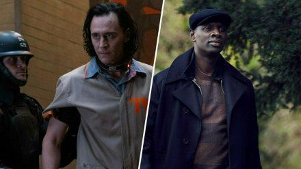 """Erobern im Juni die Wohnzimmer: """"Loki"""" (Tom Hiddleston, l.) und """"Lupin"""" (Omar Sy). (stk/spot)"""