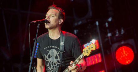 Der Bassist und Sänger der Band «Blink-182», Mark Hoppus (2017).