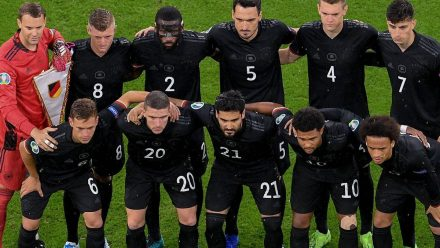 Die Fußballnationalmannschaft spielt am 29. Juni gegen England (wue/spot)