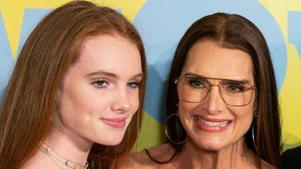 Rowan Francis Henchy und ihre Mutter Brooke Shields bei einem Event in New York, 2020. (aha/spot)