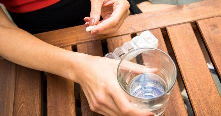 Menschen mit Herzschwäche sollten nicht zu wenig aber auch nicht zu viel trinken.