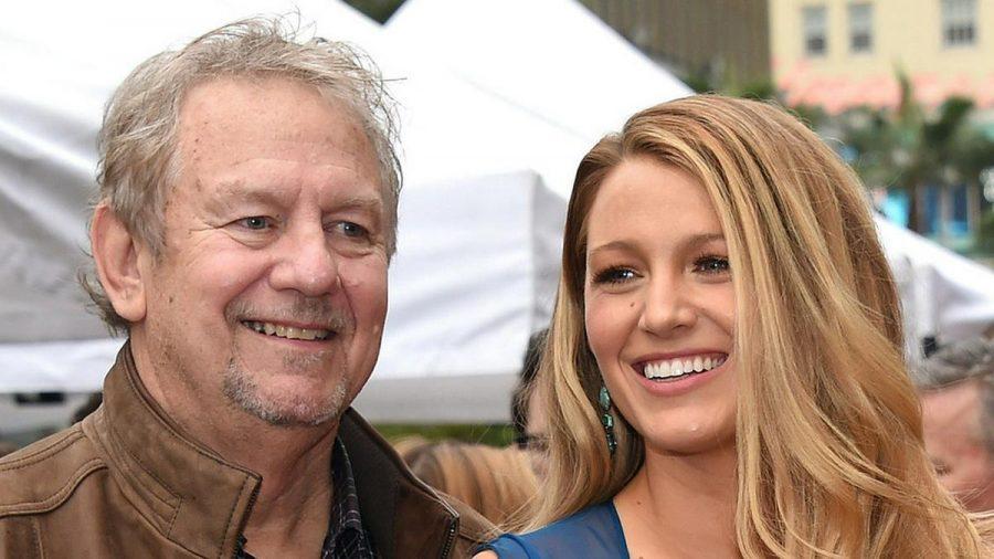 Ernie Lively mit seiner Tochter Blake im Jahr 2016 in Los Angeles. (dr/spot)