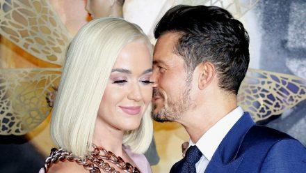 Katy Perry und Orlando Bloom bei einem ihrer seltenen öffentlichen Auftritt im August 2019 in Los Angeles.  (ili/spot)
