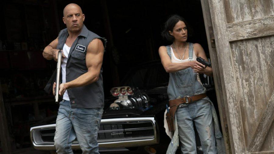 """Vin Diesel und Michelle Rodríguez in """"Fast & Furious 9"""". (stk/spot)"""
