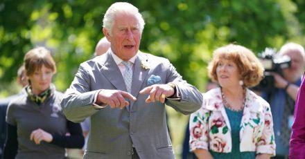Der britische Prinz Charles bei einem Besuch in Oxford.