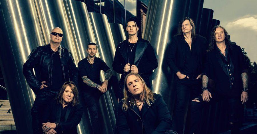 Die Band Helloween: zum ersten Mal ganz oben in den Charts.