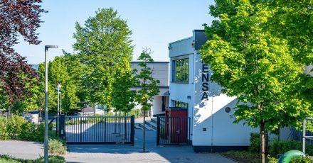 Das Gelände des Schulzentrums in Finnentrop im Kreis Olpe.