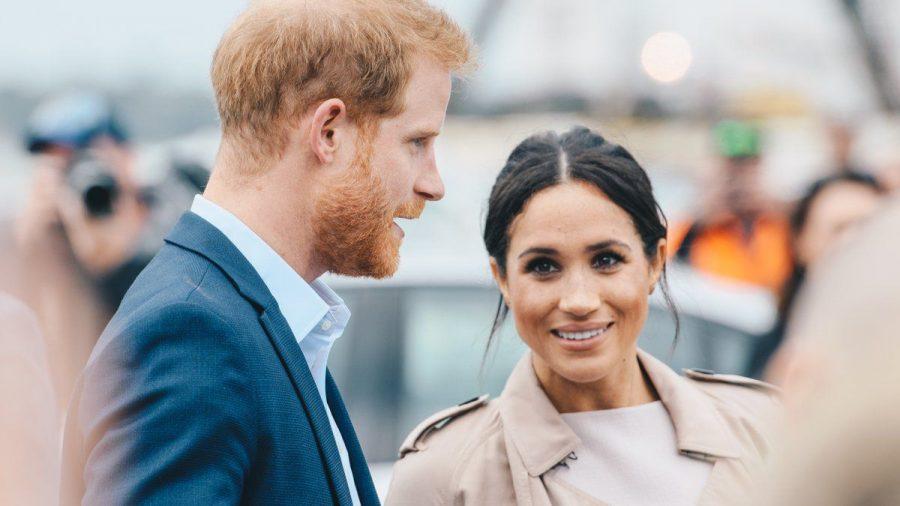 Herzogin Meghan wird Prinz Harry nicht nach London begleiten. (ili/spot)