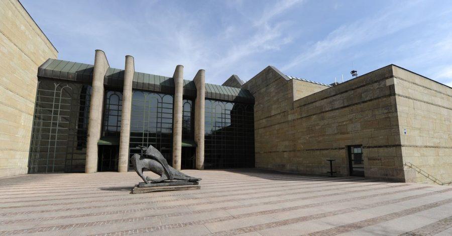 Die Neue Pinakothek in München.