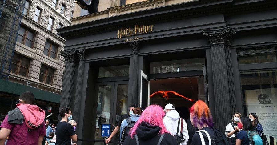 Im Herzen von Manhattan:der Harry Potter Flagship Store.