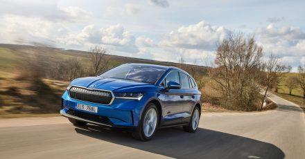 SUV der neuen Generation: Der Enyaq ist Skodas erstes Modell, das auf dem modularen Elektrobaukasten des VW-Konzerns basiert.