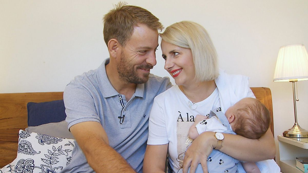 """Gerald & Anna von """"Bauer sucht Frau: Sie hat den Not-Kaiserschnitt gespürt!"""