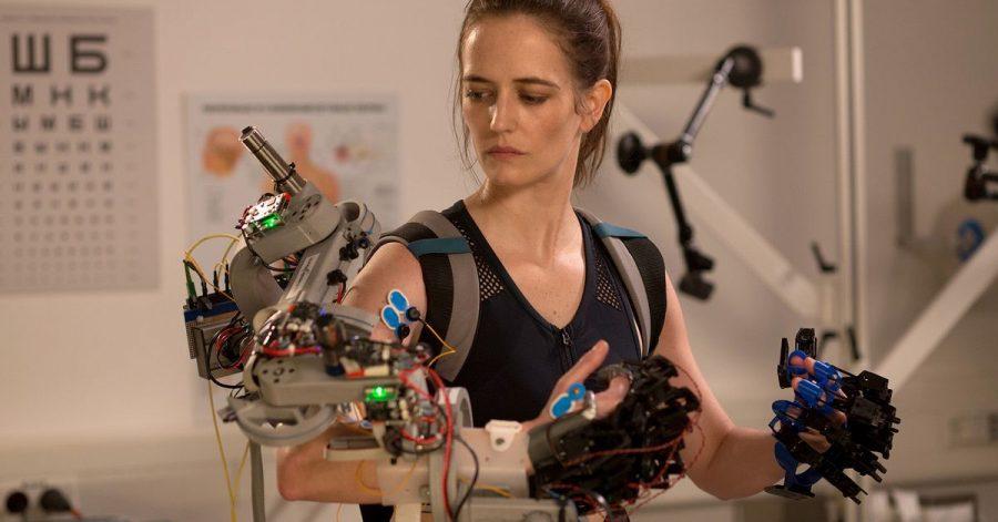 "Eva Green als Sarah in einer Szene des Films ""Proxima - Die Astronautin"" (undatierte Filmszene)."