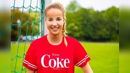 Die deutsche Fußball-Nationalspielerin Giulia Gwinn  (spot)
