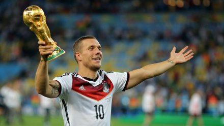 Lukas Podolski, hier bei der WM 2014 in Brasilien (wue/spot)