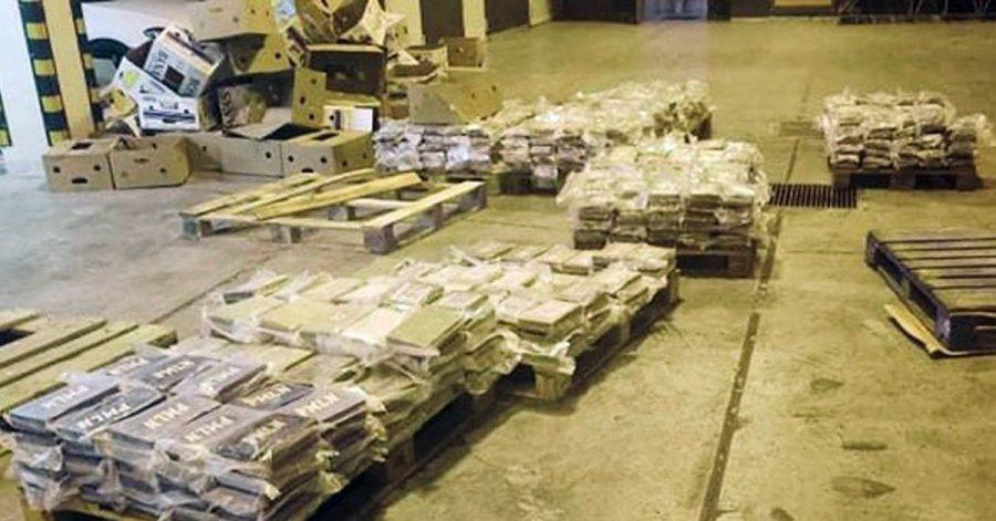 Auf Malta wurden 740 Kilogramm Kokain in einem Container mit Bananen aufgespürt.