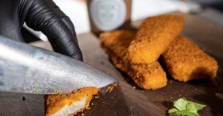 Vegane Fischstäbchen punkten mit Zutaten aus der Region. Doch die Nährstoffbilanz ist eher mittelmäßig. Und die Preise liegen höher als bei echten Fischprodukten. Das ergab ein Marktcheck der Verbraucherzentrale Hamburg.