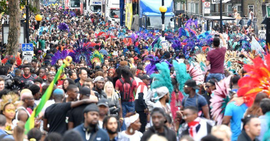 Ob es je wieder so wird? Menschenmassen während des Notting Hill Carnivals 2018.