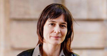 Julia Willmann, derzeitige «Feuergriffel»-Stadtschreiberin in Manheim.