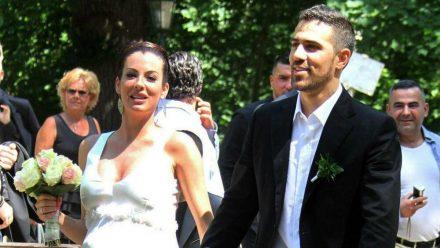 Bushido und Anna-Maria Ferchichi bei ihrer Hochzeit 2012. (nra/spot)