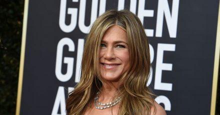 Jennifer Aniston bei der Verleihung der 77. Golden Globe Awards im Beverly Hilton Hotel 2020.