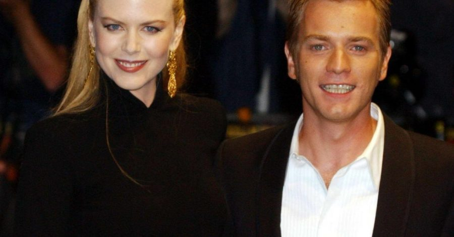 """Nicole Kidman und Ewan McGregor 2001 bei der Premiere von """"Moulin Rouge"""" in London."""