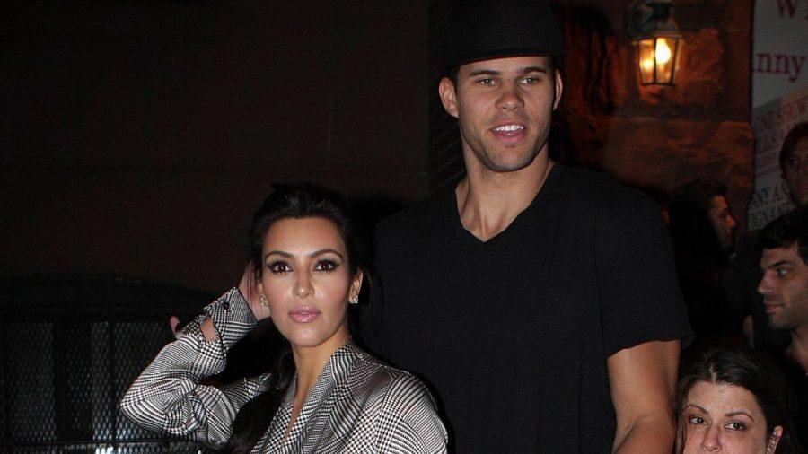 Kim Kardashian mit ihrem Ex Kris Humphries