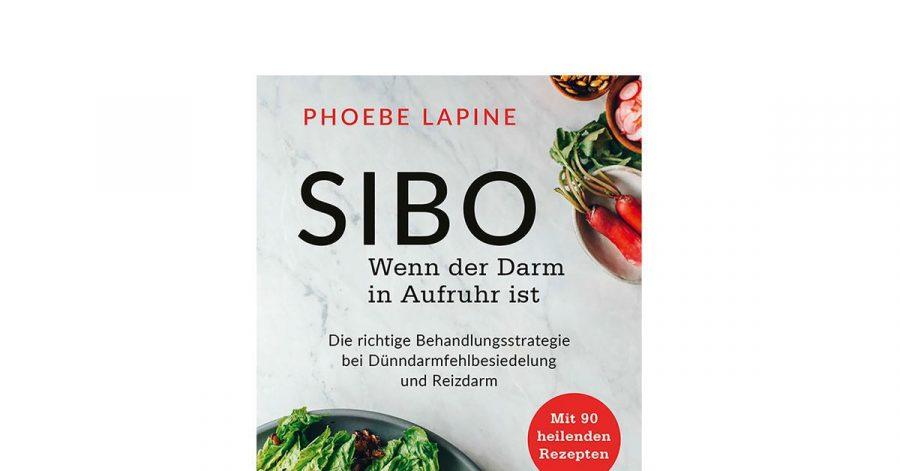 «SIBO - Wenn der Darm in Aufruhr ist» von Phoebe Lapine, VAK-Verlag, 352 Seiten, 28 Euro, ISBN978-3867312462. Erscheinungsdatum ist voraussichtlich Ende Juni.