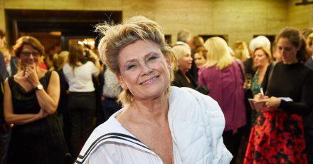 Gitte Hænning will auch mit bald 75 nicht aufhören, Musik zu machen.