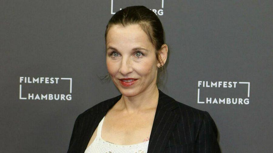 Meret Becker im Jahr 2020 in Hamburg (wue/spot)