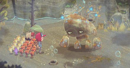 In «The Wild at Heart» fliehen die Kinder Wake und Kirby vor ihren Eltern, und gehen gemeinsam auf eine ungewisse Reise durch den geheimnisvollen Tiefenwald.