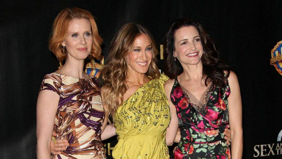 """Bald werden Cynthia Nixon, Sarah Jessica Parker und Kristin Davis (v.l.) für """"And Just Like That..."""" wieder gemeinsam vor der Kamera stehen. (jru/spot)"""
