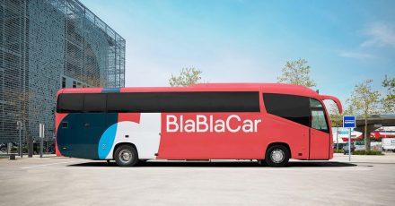 Die roten Busse von Blablacar fahren wieder.