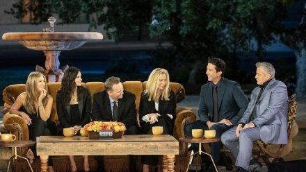 """Die """"Friends""""-Stars während ihrer großen Reunion (mia/spot)"""