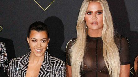 Beef zwischen Khloé und Kourtney Kardashian?