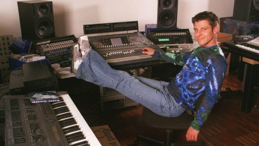 Phil Daub im Tonstudio