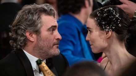 "Joaquin Phoenix und Verlobte Rooney Mara drehen ""Polaris"""