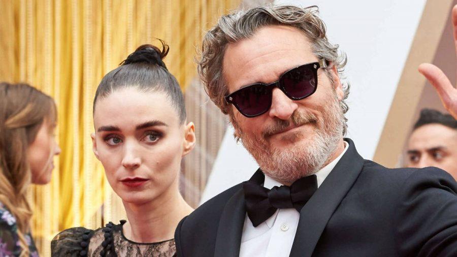 Rooney Mara und Joaquin Phoenix 2020.