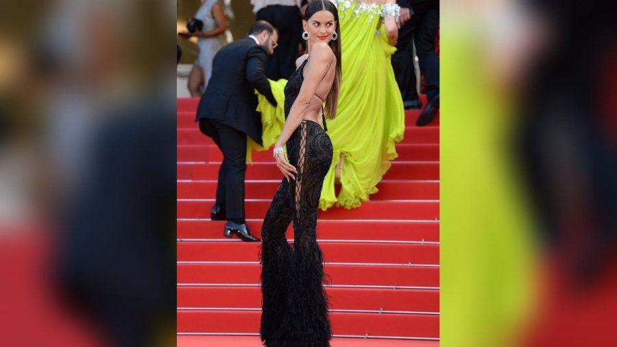 Izabel Goulart legte in Cannes einen sexy Auftritt hin. (eee/spot)