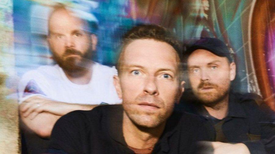 Chris Martin (Mitte) und Co. sind mit einem neuen Album zurück (rto/spot)