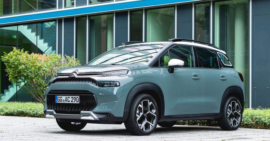 Zum Themendienst-Bericht vom 6. Juli 2021: Neuer Look: Optisch lässt sich das Facelift beim Citroën C3 Aircross besonders an der überarbeiteten Frontpartie erkennen.