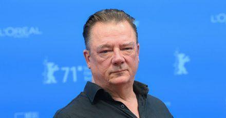 Schauspieler Peter Kurth bei der Premiere von «Nebenan» in Berlin.