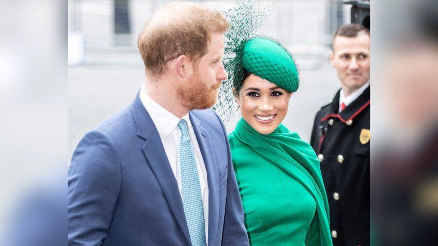Prinz Harry und Herzogin Meghan bei einer Veranstaltung. (rto/spot)