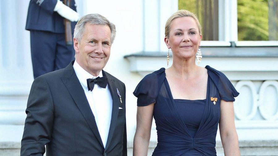Christian und Bettina Wulff beim Staatsbankett auf Schloss Bellevue. (ili/spot)