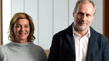 Margarita Broich und Wolfram Koch ermitteln in Frankfurt. (jom/spot)