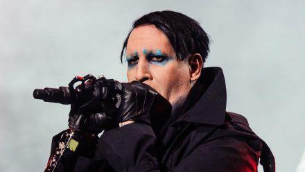 Marilyn Manson wurde bei der Polizei in Los Angeles vorstellig. (jom/spot)