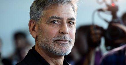 Spricht den Bewohnerinnen und Bewohnern von Laglio am Comer See Mut zu: Hollywoodstar George Clooney.